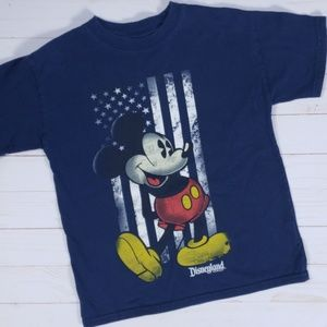 Disney Parks Mickey Mouse Kids Tee Small
